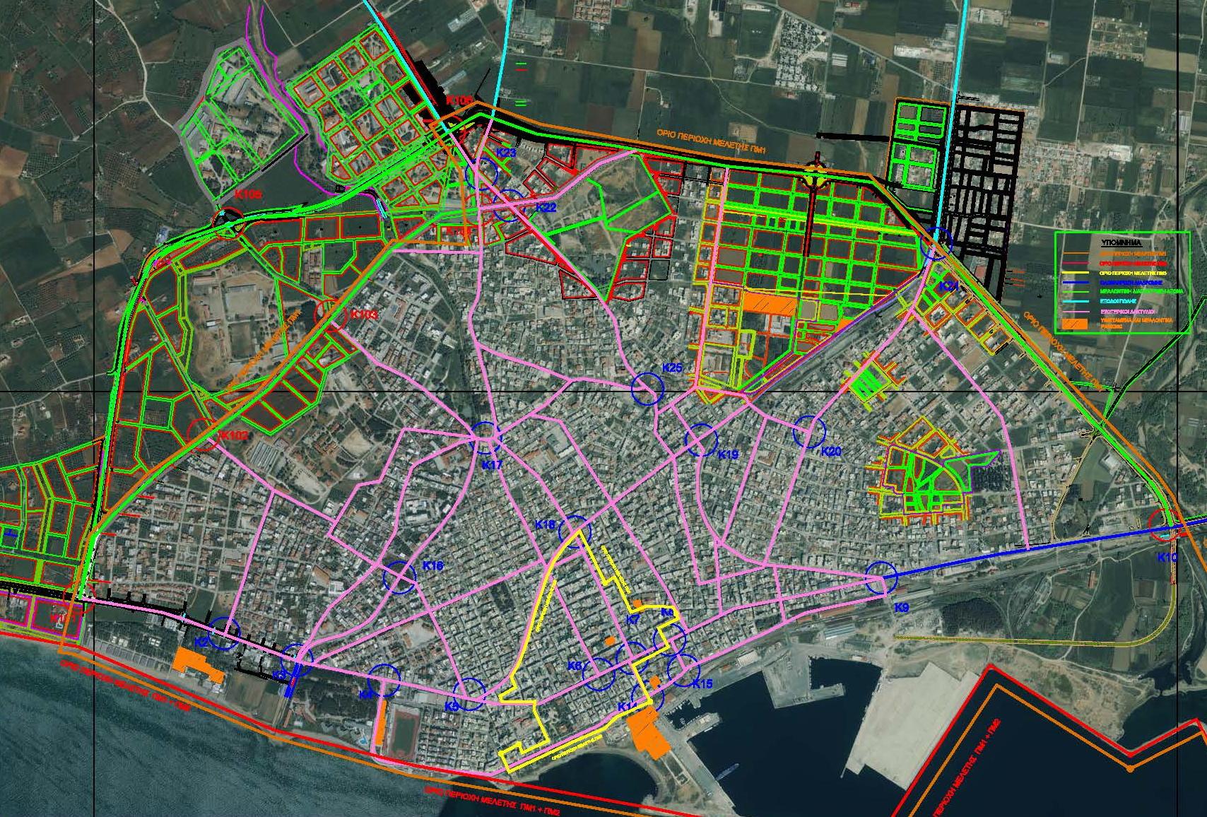 Περιοχή Ι Κυκλοφοριακής Μελέτης Δήμου Αλεξανδρούπολης
