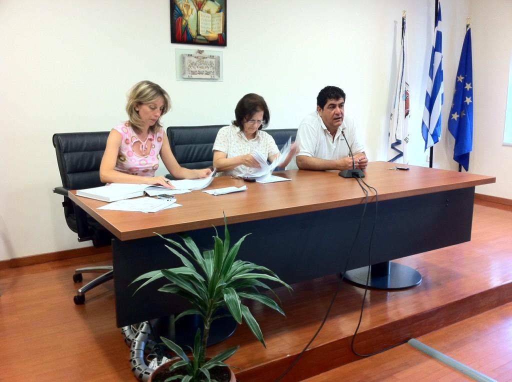 Συνεδρίαση Δημοτικής Κοινότητας Αλεξανδρούπολης 13/7/2011