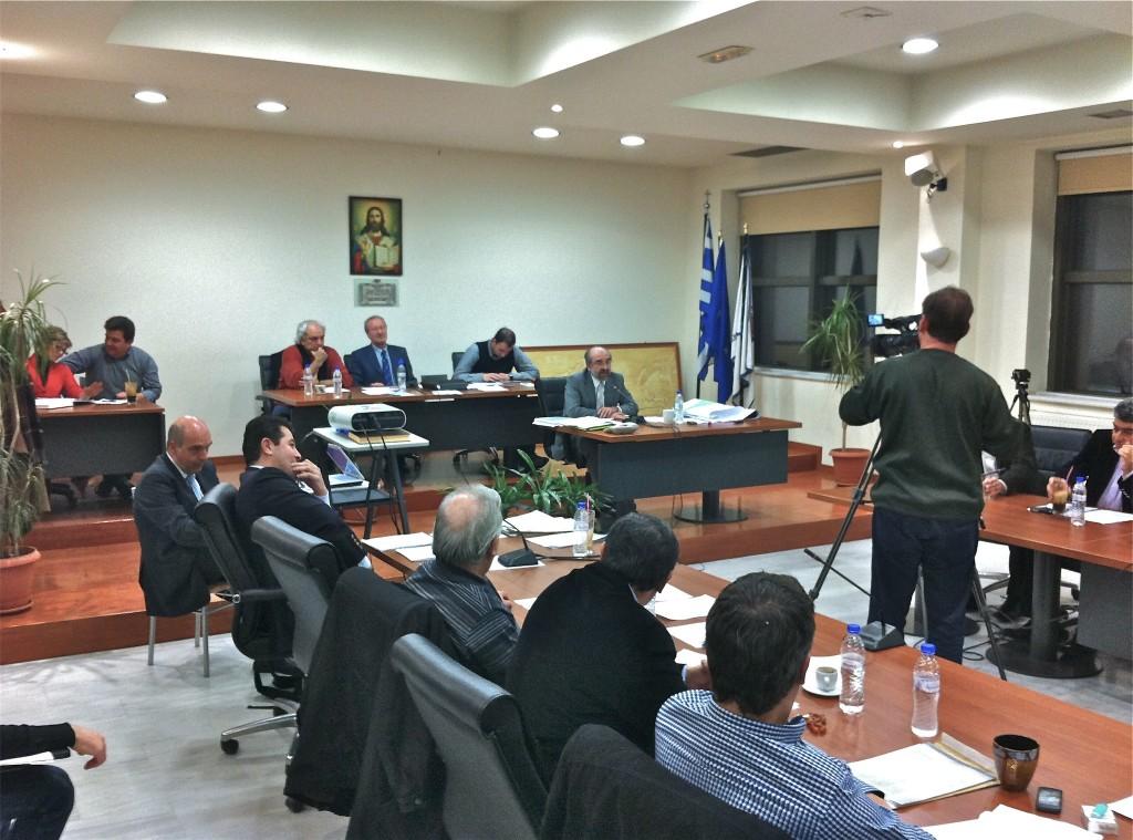 Εισήγηση κ. δημάρχου σχετικά με το Πρωτόκολλο Συνεργασίας με τον ΟΛΑ