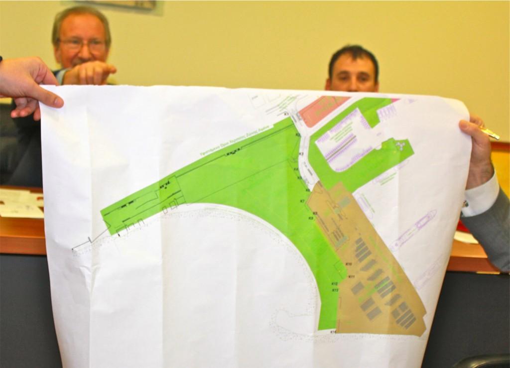 Χάρτης συνημμένος στο Πρωτόκολλο Συνεργασίας με τον ΟΛΑ