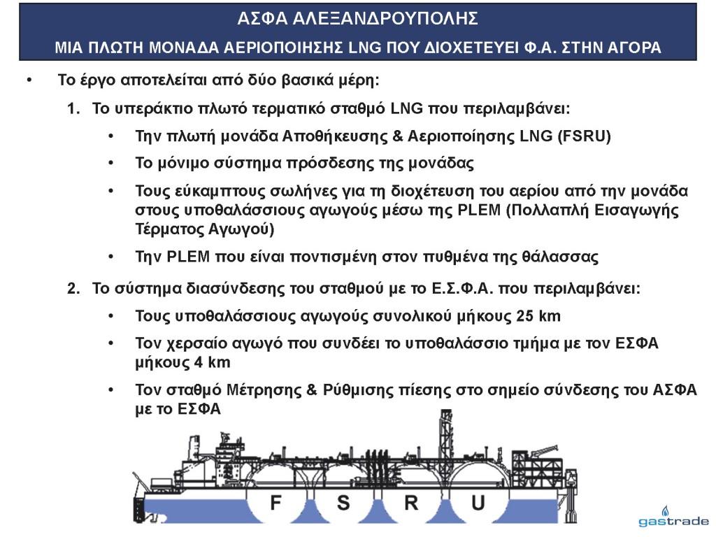 Παρουσίαση κ. Σιφναίου για την επένδυση LNG (Slide 03)