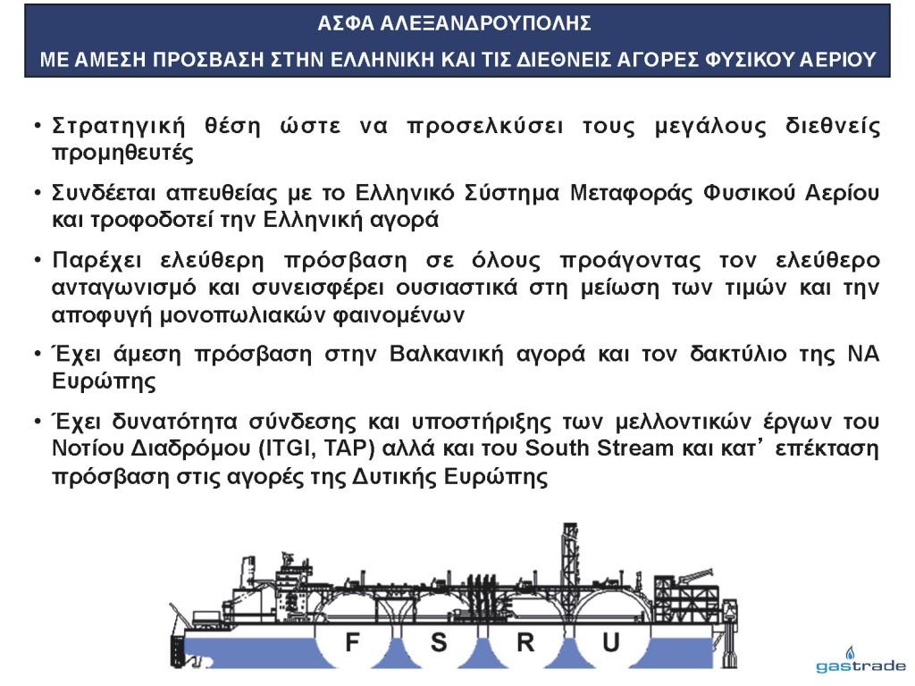 Παρουσίαση κ. Σιφναίου για την επένδυση LNG (Slide 11)