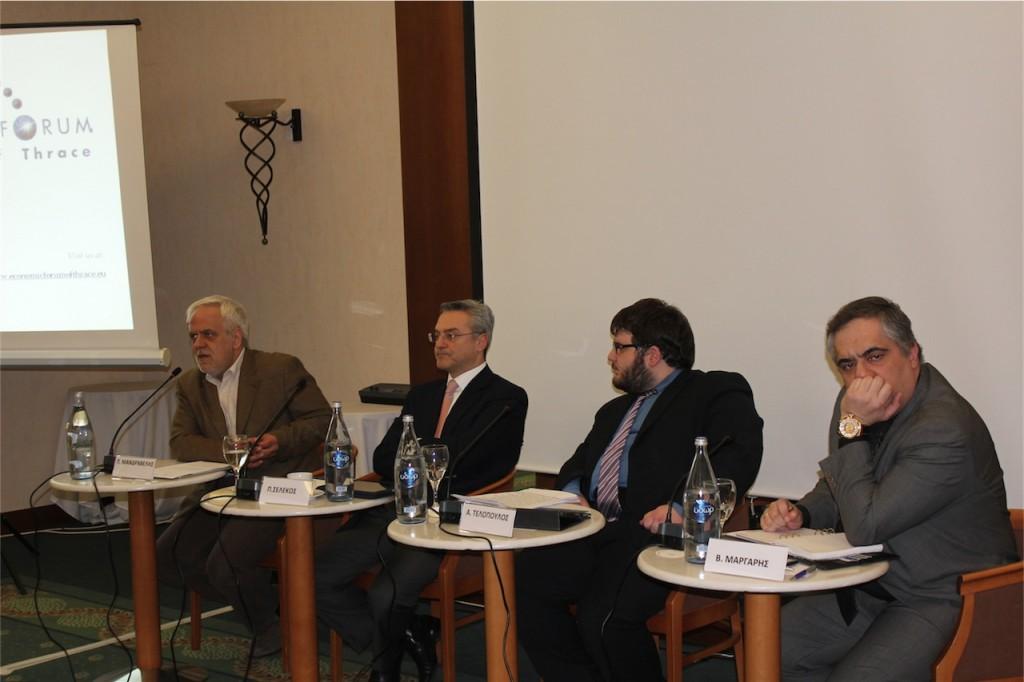 Πάνελ Χρηματοοικονομικού Φόρουμ για την Ε.Ο.Ζ. στην Α.Μα.Θ. της 20/2/2012