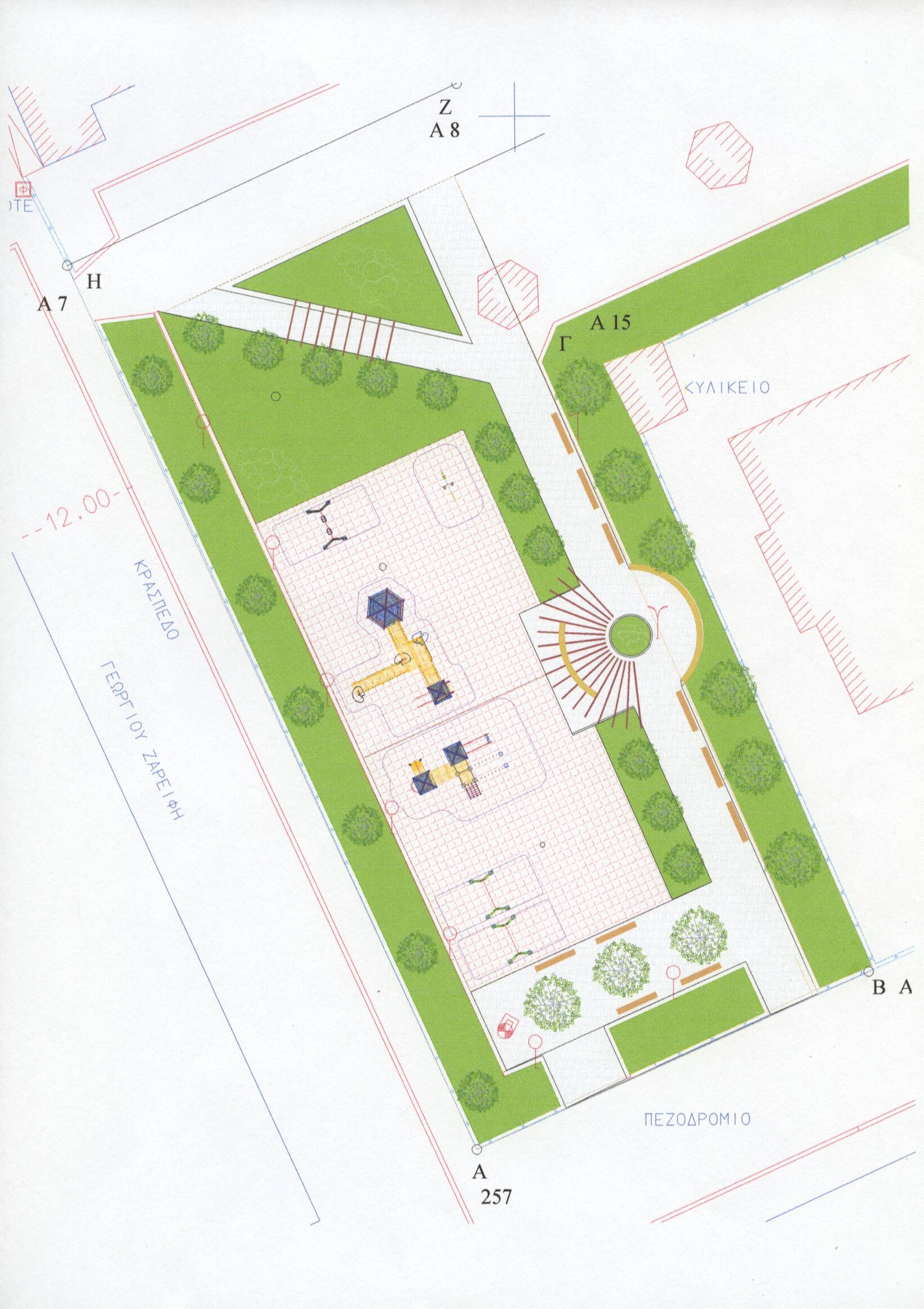 Πρόταση υπηρεσίας για την ανάπλαση του νοτίου τμήματος του Πάρκου Εθνικής Ανεξαρτησίας