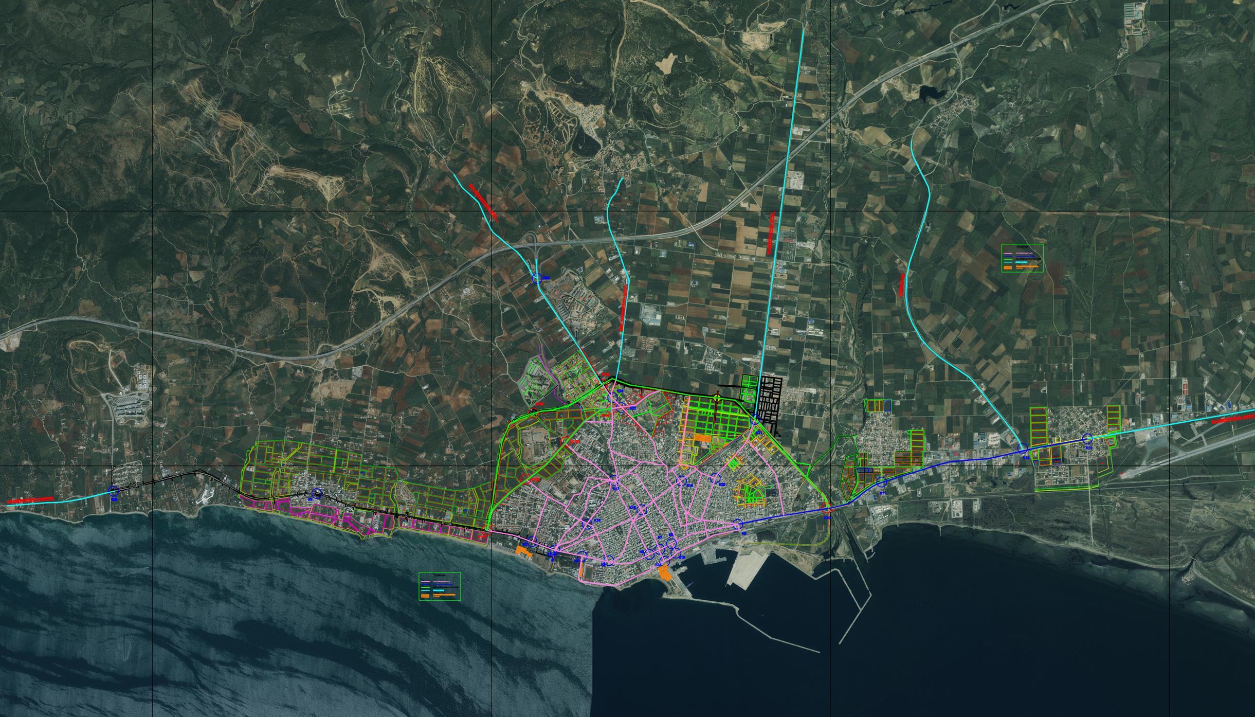 ΟΕ 11/6/2012 - Περιοχή Μελέτης της Κυκλοφοριακής Μελέτης στην Αλεξανδρούπολη