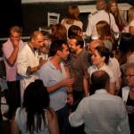 """Μετά την πρεμιέρα της παράστασης """"Ο καλός άνθρωπος του Σετσουάν"""" (17/09/2009) (διακρίνεται ο σημερινός δήμαρχος κ. Ευάγγελος Λαμπάκης)"""