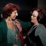 """Μετά την πρεμιέρα της παράστασης """"Ο καλός άνθρωπος του Σετσουάν"""" (17/09/2009) (διακρίνεται η πρόεδρος του Ερευνητικού Θεάτρου Θράκης κ. Ελβίρα Ταταρίδου)"""