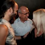 """Μετά την πρεμιέρα της παράστασης """"Ο καλός άνθρωπος του Σετσουάν"""" (17/09/2009) (διακρίνεται ο τότε δήμαρχος κ. Γιώργος Αλεξανδρής)"""