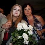 """Μετά την πρεμιέρα της παράστασης """"Ο καλός άνθρωπος του Σετσουάν"""" (17/09/2009) (διακρίνονται η σημερινή υπεύθυνη του γραφείου Εθελοντισμού κ. Καίτη Μακρή και η διευθύντρια της Τεχνικής Υπηρεσίας του δήμου Αλεξανδρούπολης κ. Αικατερίνη Μπρίκα)"""