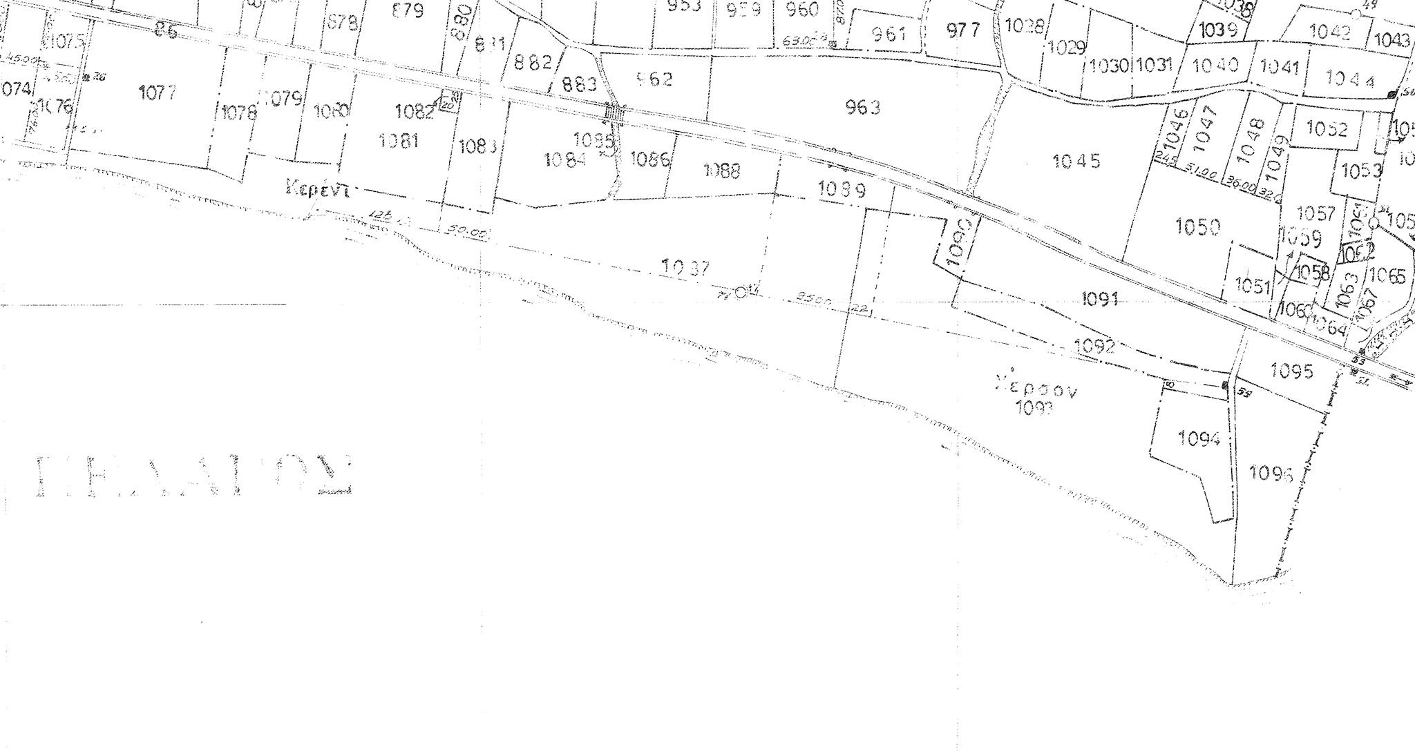 Αγρόκτημα 1087 στο 1ο χλμ Αλεξ/πολης-Μάκρης