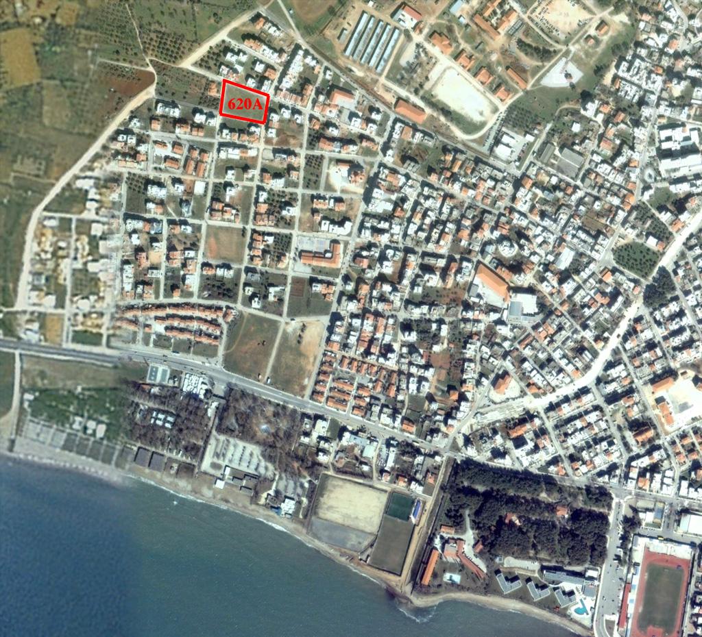 Το Ο.Τ. 602Α στην περιοχή του Αγίου Βασιλείου στην Αλεξανδρούπολη