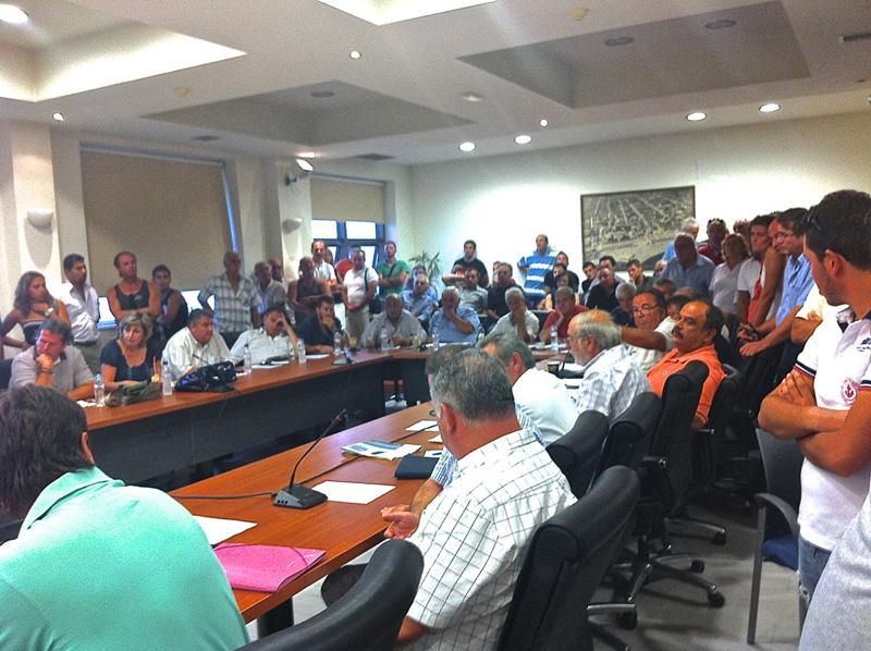 Δημοτικό Συμβούλιο 29/08/2012 - Συζήτηση για μεταφορά Λαϊκής Αγοράς στην οδό Παπαναστασίου