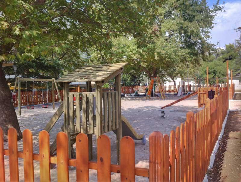 Εργασίες στο νότιο τμήμα του Πάρκου Εθνικής Ανεξαρτησίας (19/09/2012)