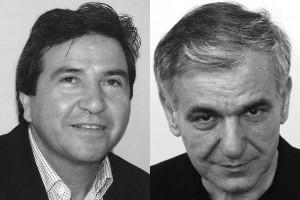 Οι κ.κ. Μαρίνος Ουζουνίδης και Δημοσθένης Δούκας