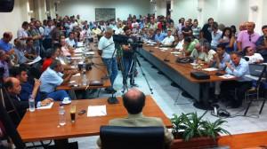 Συνεδρίαση του Δ.Σ. του Δήμου Αλεξανδρούπολης τη Δευτέρα 1/10/2012 για την Μ.Π.Ε. της Χρυσωρυχεία Θράκης Α.Ε. στο Πέραμα