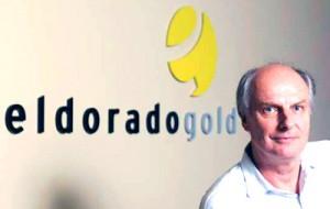Ο πρόεδρος και διευθύνων σύμβουλος της Eldorado Gold, κ. Paul Wright (πηγή φωτογραφίας: saypeople.com)