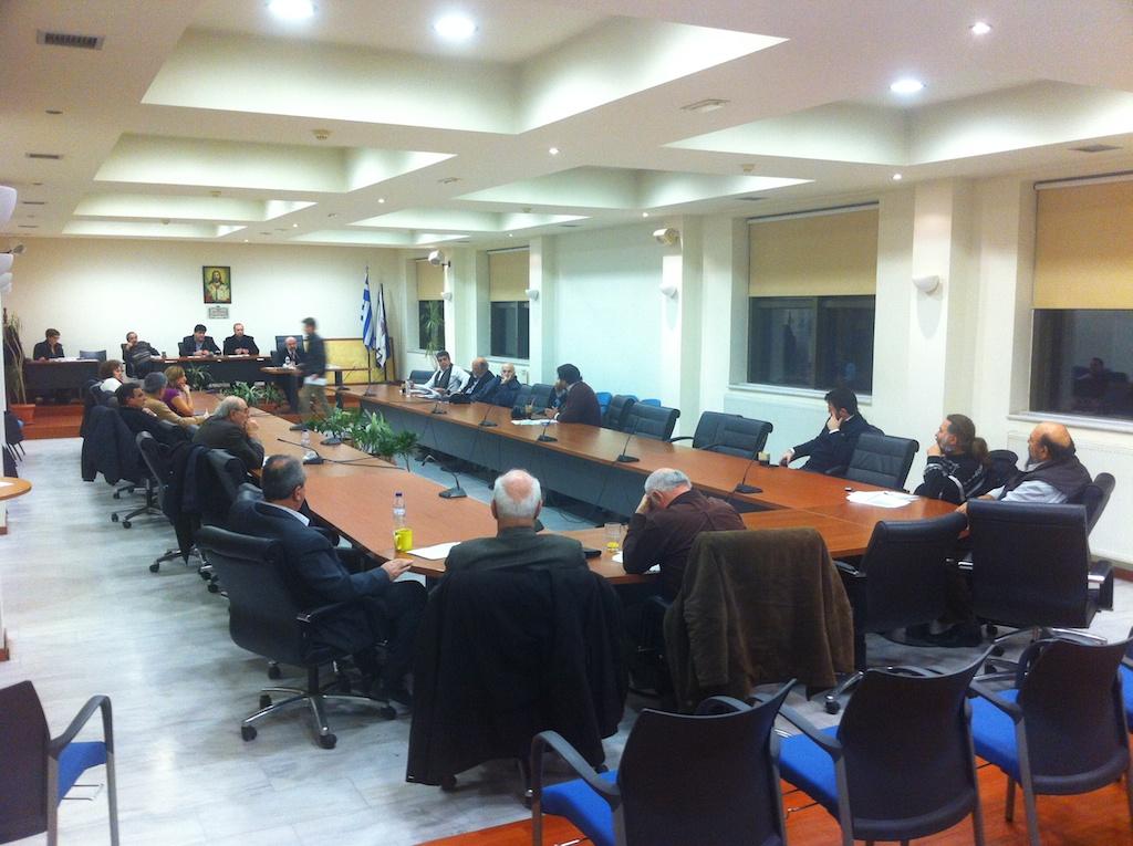 Επιτροπή Διαβούλευσης 19/12/2012 (ματαιώθηκε λόγω έλλειψης απαρτίας)