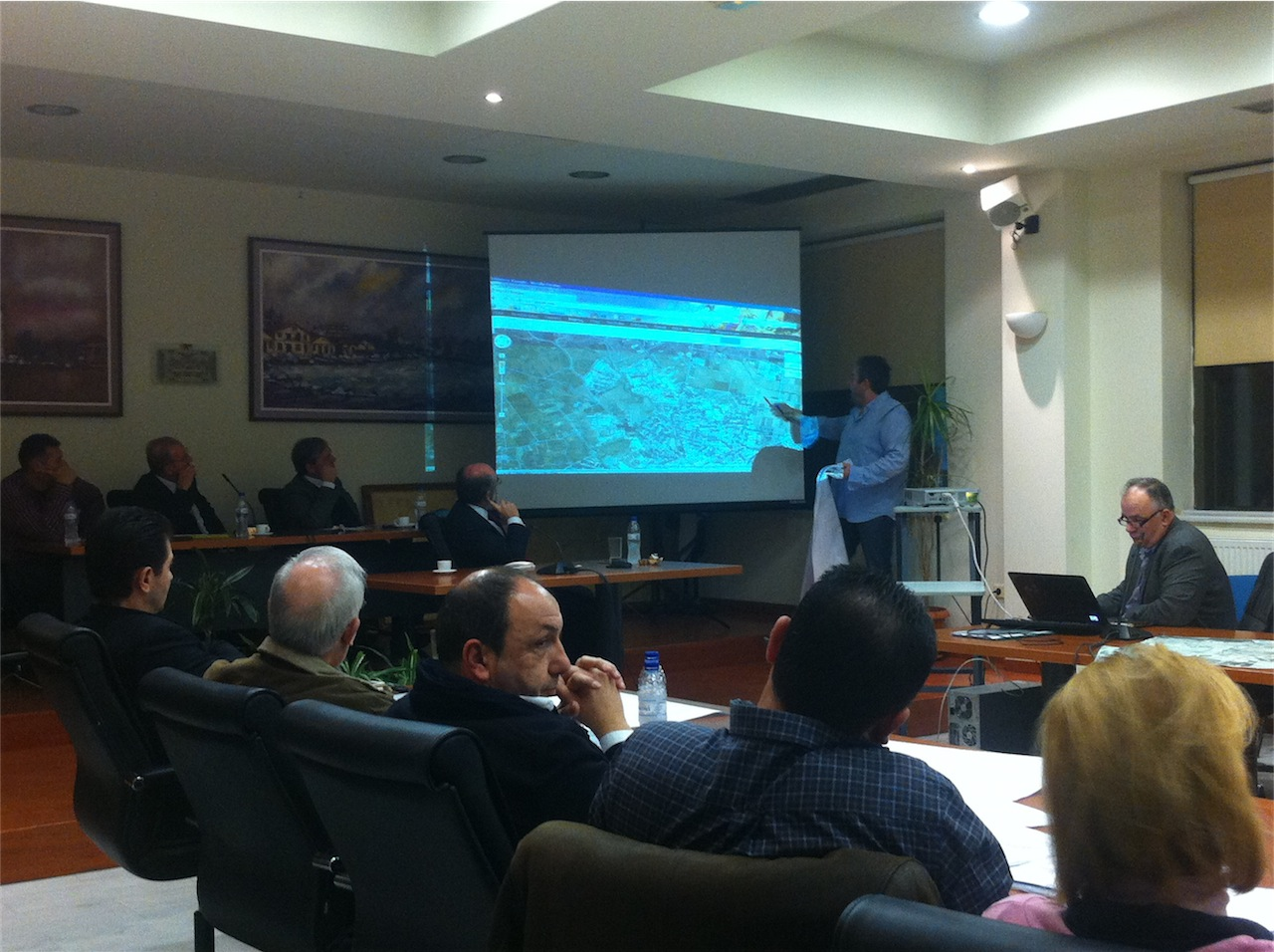 Συνεδρίαση ΔΣ για λύσεις χωροθέτησης σταθμού ΚΤΕΛ Αλεξ/πολης (17/1/2013, 19:04)