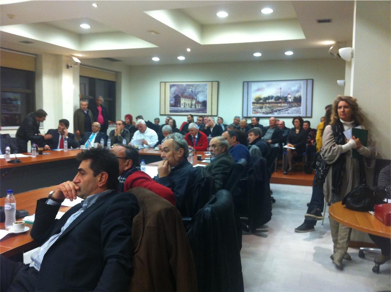 Συνεδρίαση ΔΣ για λύσεις χωροθέτησης σταθμού ΚΤΕΛ Αλεξ/πολης (17/1/2013, 19:05)