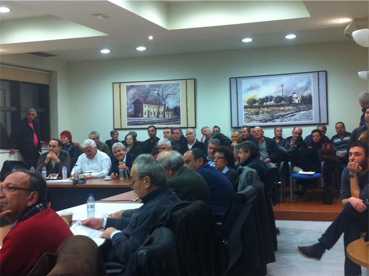 Συνεδρίαση ΔΣ για λύσεις χωροθέτησης σταθμού ΚΤΕΛ Αλεξ/πολης (17/1/2013, 19:13)