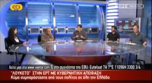 Συζήτηση για τα χρυσωρυχεία σε Χαλκιδική και Κιλκίς στην ΕΤ3 (15/06/2013)