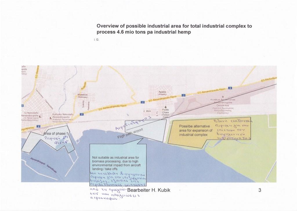 Επενδυτική πρόταση Μονάδας Μεταποίησης Βιομάζας Σελ.03
