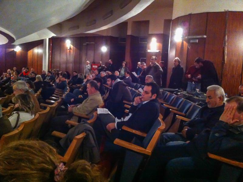 Ανοικτή Ιδρυτική Συνέλευση για τη νέα δημοτική παράταξη (10/2/2014)
