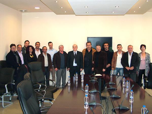 """Παρουσίαση 18 νέων υποψηφίων της παράταξης """"Δήμος & Δημότες"""" (26/2/2014)"""