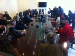 """Παρουσίαση 20 νέων υποψηφίων παράταξης """"Δήμος και Δημότες"""" (27/3/2014 14:15)"""
