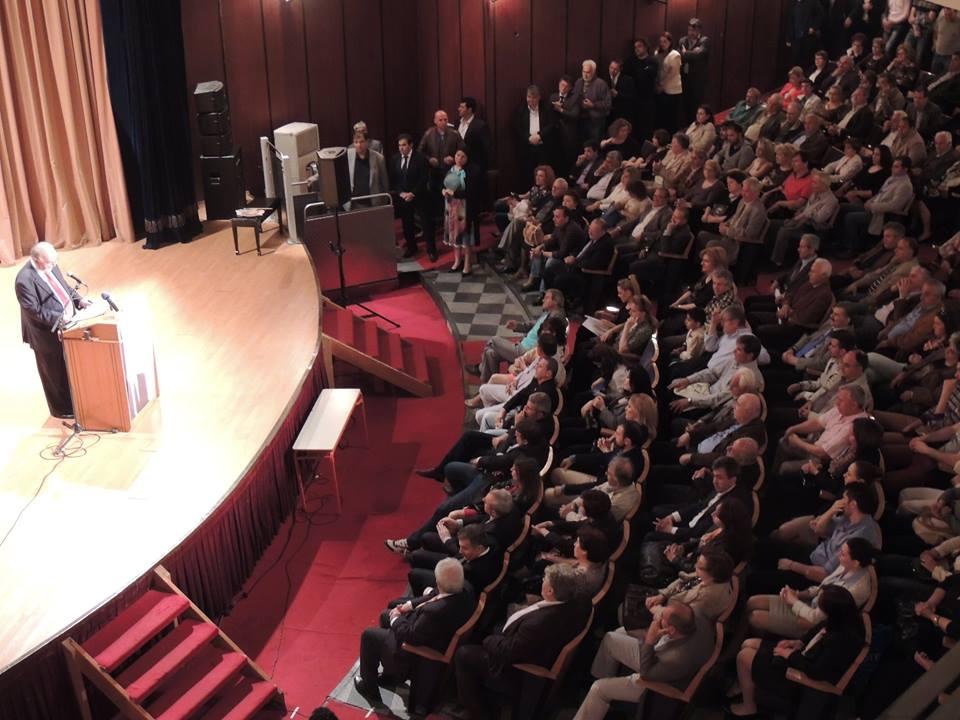 Κεντρική προεκλογική ομιλία Απόστολου Φωτιάδη (Δήμος & Δημότες) στο Δημοτικό Θέατρο (Τετάρτη 14/5/2014)