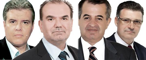 Παυλίδης-Πέτροβιτς-Γιαννακίδης-Καβαρατζής (Περιφερειακές Εκλογές 25/5/2014)