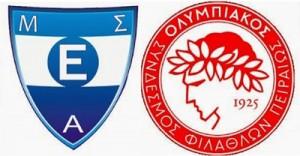 Εθνικός-Ολυμπιακός (τελικός πρωταθλήματος βόλεϊ Σαββάτου 3/5/2014)