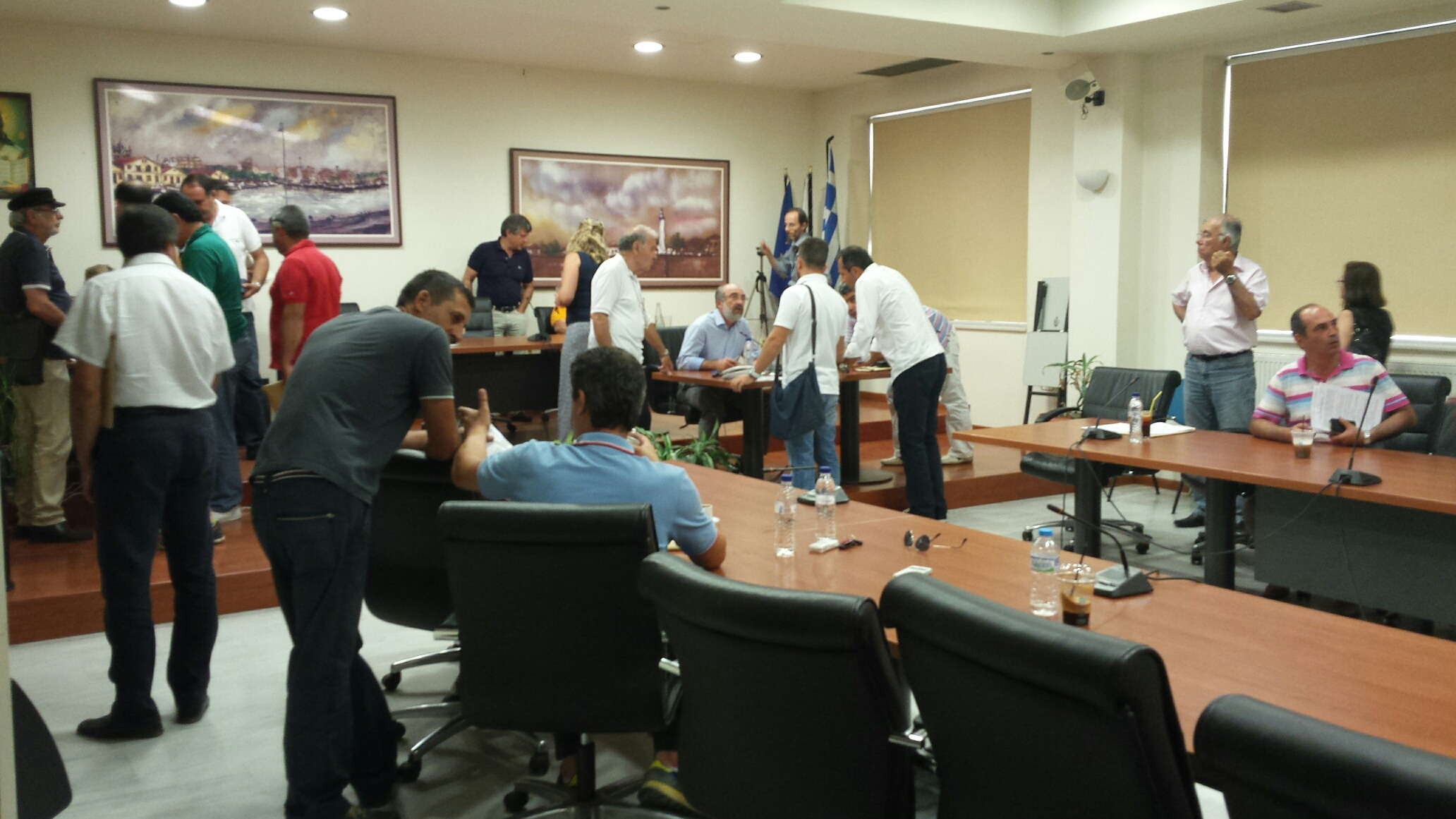 Το 21ο ΔΣ του Δήμου Αλεξ/πολης αναβλήθηκε λόγω μη απαρτίας (21/7/2014 19:35)