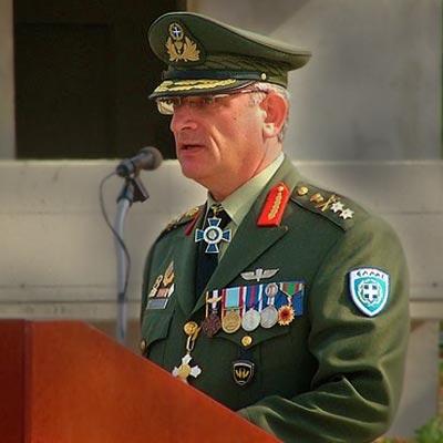 Υποστράτηγος Παναγιώτης Φαραντάτος, διοικητής 12ης Μ/Κ Μεραρχίας Πεζικού