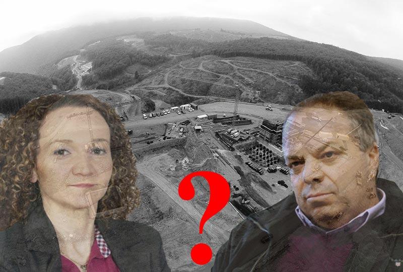 Επισκέφτηκε η αντιπεριφερειάρχης Περιβάλλοντος ΑΜΘ κ. Ζάχαρη τα χρυσωρυχεία στη Χαλκιδική συνοδεία του διευθύνοντα συμβούλου της Χρυσωρυχεία Θράκης ΑΕ κ. Γιώργου Μαρκόπουλου;