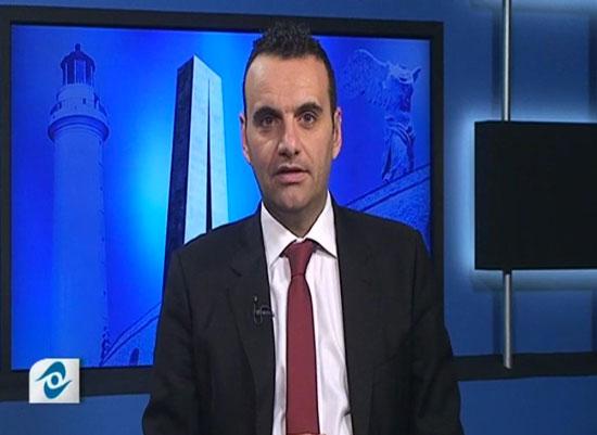 Σάκης Σταυρίδης, παρουσιαστής του βραδινού δελτίου ειδήσεων του ΘράκηΝΕΤ (Πέμπτη 13/11/2014)