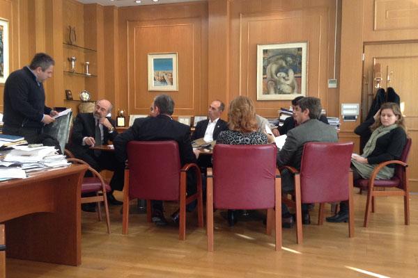 Ο κ. Μαστορόπουλος εισηγείται στην Οικονομική Επιτροπή της 21/11/2014