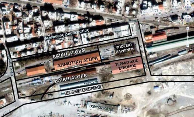 Αποθήκες ΚΥΔΕΠ στα ανατολικά της Αλεξανδρούπολης, ΟΛΑ, ΟΣΕ