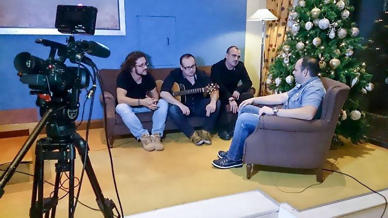 Συνέντευξη Χίλια Χρόνια στο ΘράκηΝΕΤ για εορταστικό πρόγραμμα (4/12/2014)