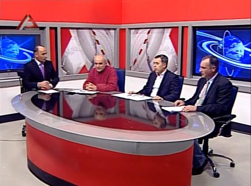 Δούκας, Ρούφος, Λελιάτσος (Πολιτικό Βαρόμετρο, Δέλτα Τηλεόραση, 1/1/2015 22:22)