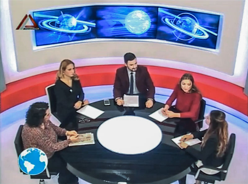 Δραμανίδου, Γκαρά, Χύτου (Πολιτικό Βαρόμετρο, Δέλτα Τηλεόραση, 6/1/2015 22:06)