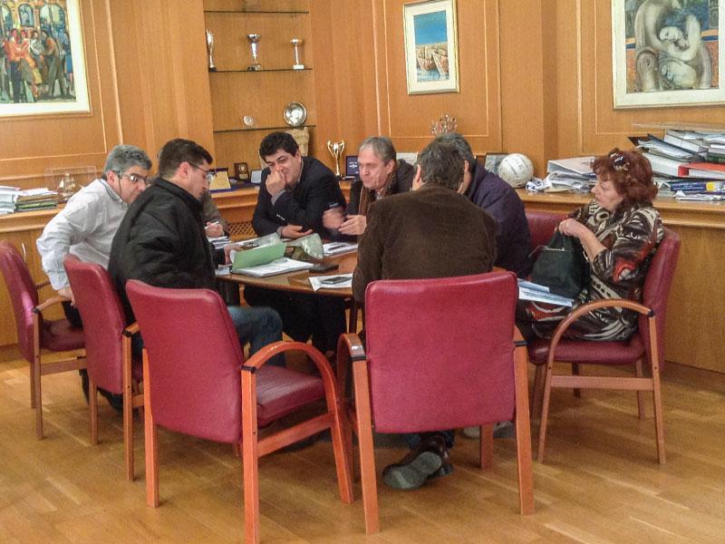 Συνεδρίαση Οικονομικής Επιτροπής Δήμου Αλεξανδρούπολης (14/1/2015 14:30)