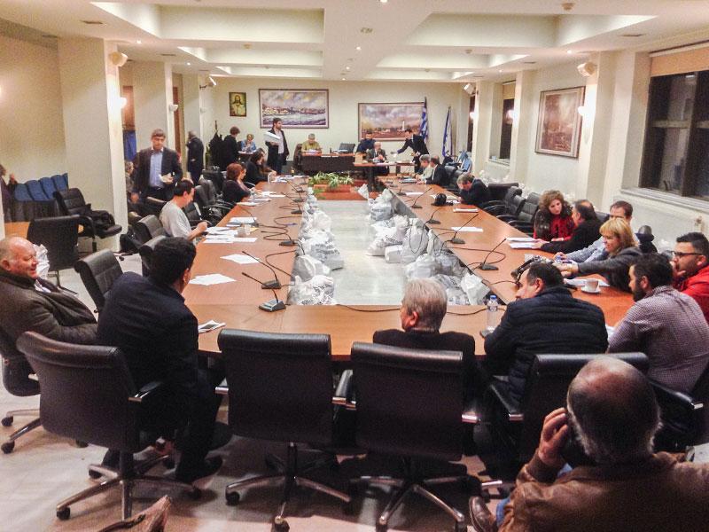 Δημοτικό Συμβούλιο της Παρασκευής 23/1/2015 (πριν τις βουλευτικές εκλογές της 25/1/2015)
