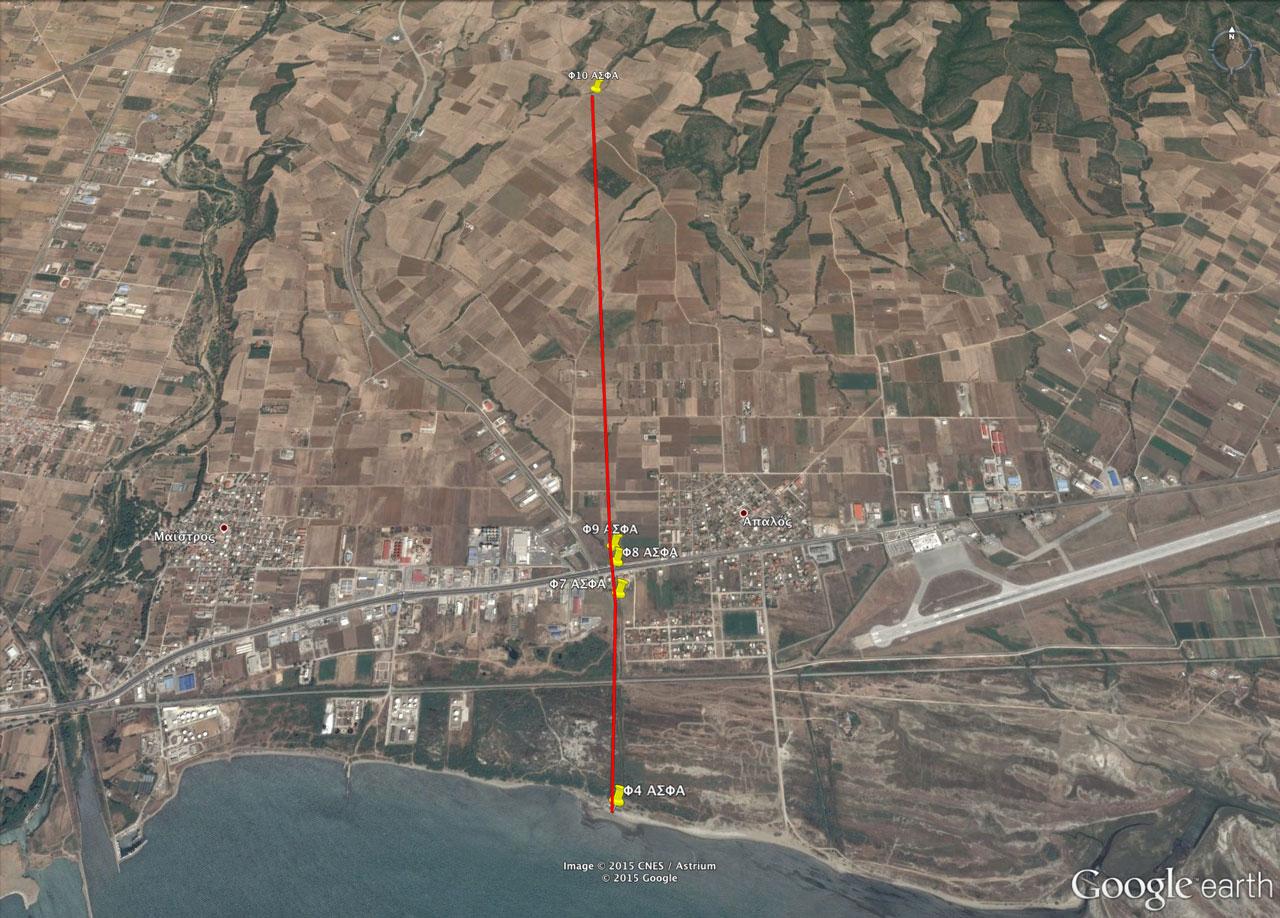 Σημεία Φ4, Φ7, Φ8, Φ9 και Φ10 χερσαίου τμήματος αγωγού ΑΣΦΑ Αλεξανδρούπολης (ΦΕΚ Β' 3528/30.12.2014)