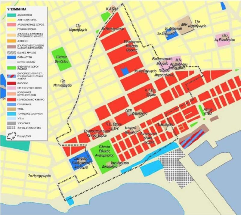 Η Α' Φάση της Κυκλοφοριακής Μελέτης της Αλεξανδρούπολης σε διαβούλευση μέχρι τις 28/2/2015