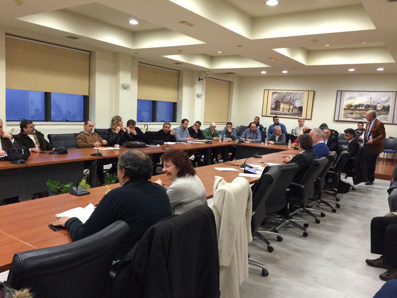 Δημοτικό Συμβούλιο 25/2/2015 18:15