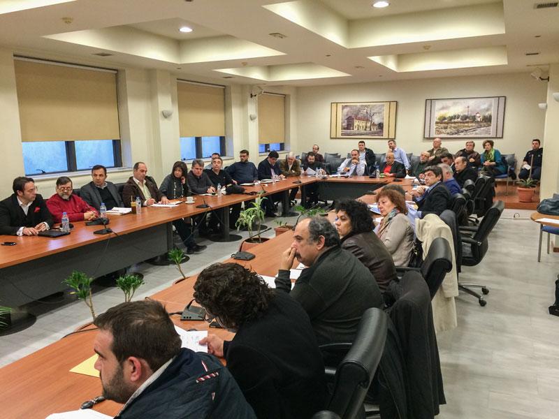 Δημοτικό Συμβούλιο 18/3/2015 - Παρουσίαση Α' Φάσης Κυκλοφοριακής Μελέτης από την κ. Διαμαντίδου και τον κ. Βόσκογλου