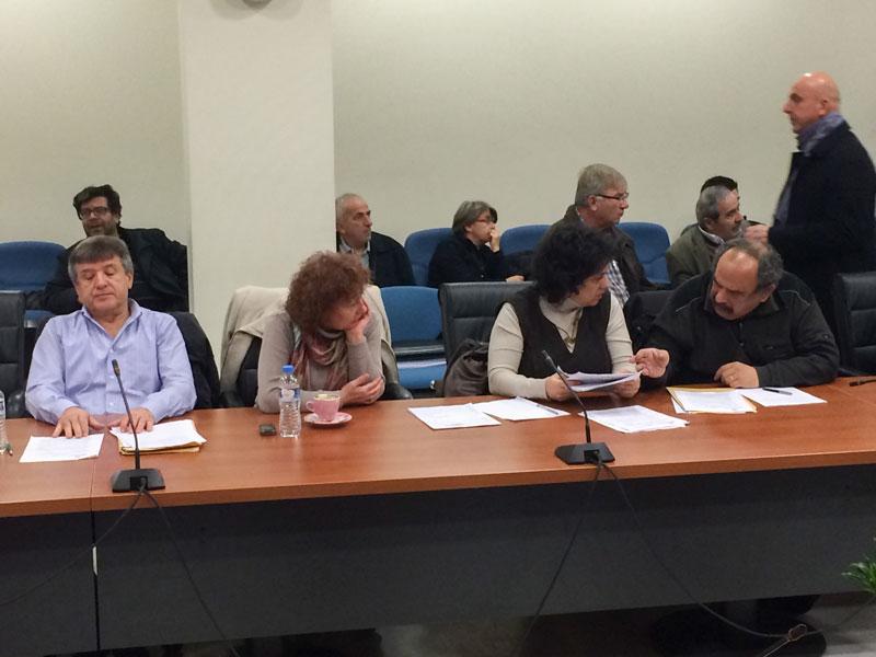 """Η παράταξη """"Λαϊκή Συσπείρωση"""" στο Δημοτικό Συμβούλιο της 18/3/2015 - Παρουσίαση Α' Φάσης Κυκλοφοριακής Μελέτης από την κ. Διαμαντίδου και τον κ. Βόσκογλου"""