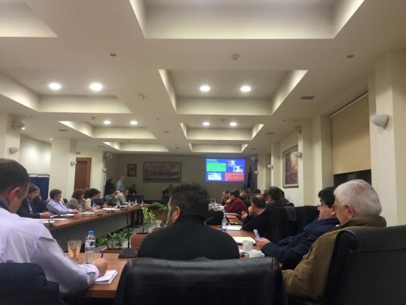 Παρουσίαση Α΄Φάσης Κυκλοφοριακής Μελέτης στο Δημοτικό Συμβούλιο (φωτό: Γιώργος Κουκουράβας)