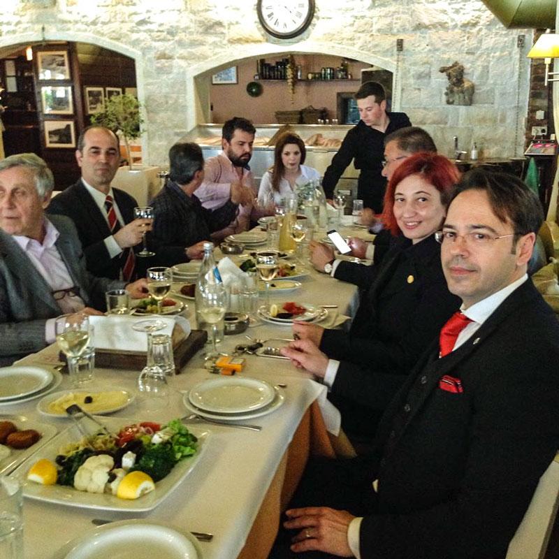 Συνάντηση με Τούρκους Δημάρχους και φορείς στην Αλεξ/πολη (27/3/2015)